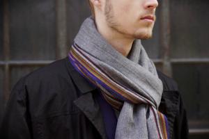 Fornuftigt at have halstørklæder til mænd i garderoben